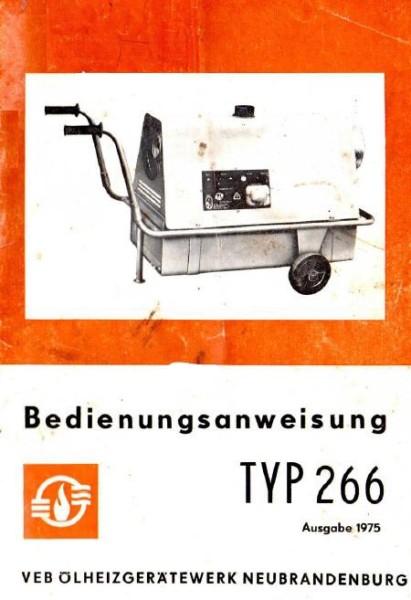 Sirokko 266.01 Anleitung