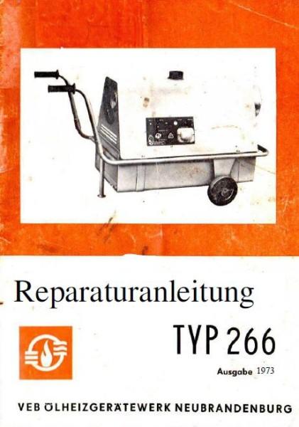 Sirokko 266.01 Reparaturanleitung